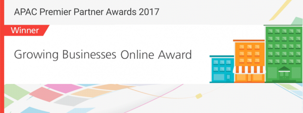 Growing Businesses Online Award
