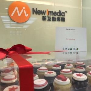 New iMedia received cupcake from Google