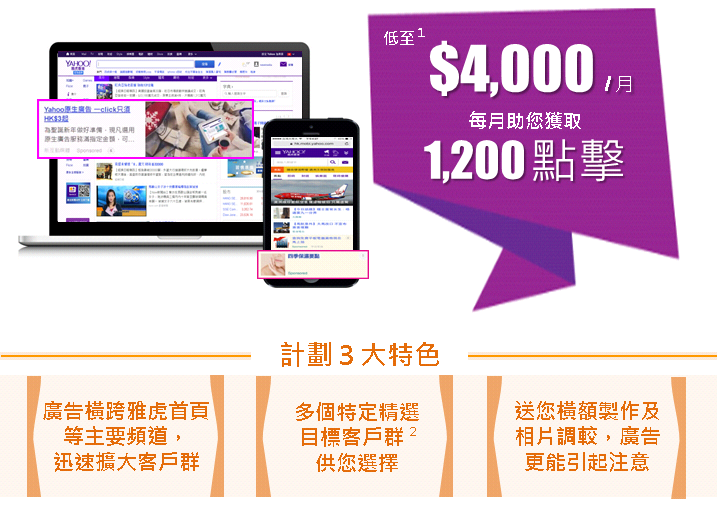New iMedia stable traffic Yahoo-Offer