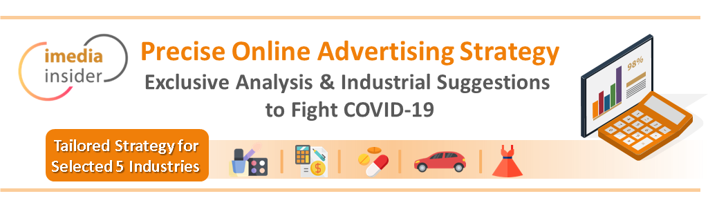 New iMedia COVID19 online advertising