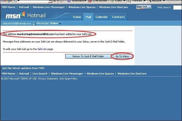 new imedia edm white list hotmail 3